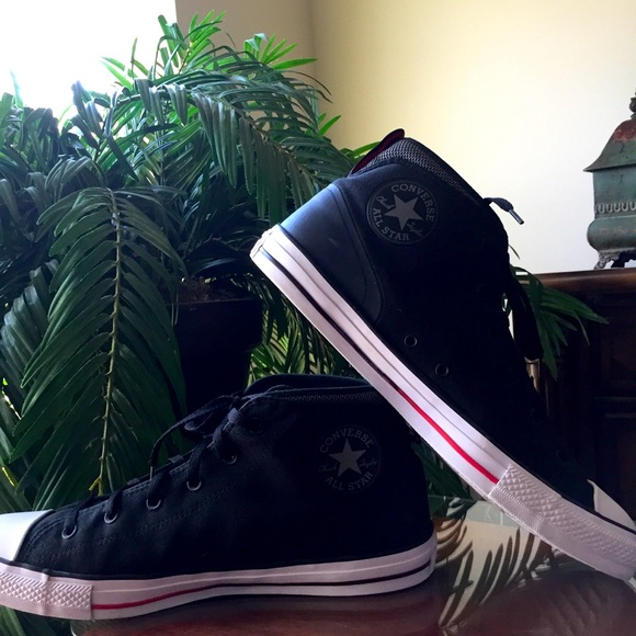 Converse All Star Chuck Taylor Black Sneakers (12)